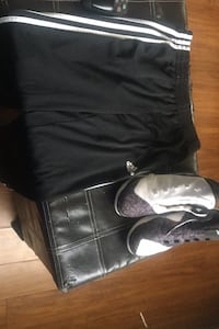 Addidas black and white pants with black and white shoes Brampton, L7A 0H6