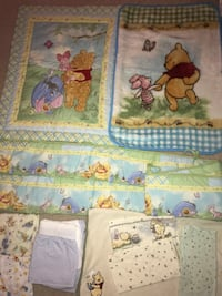 Winnie the Pooh Nursery Crib Set Fall River, 02720