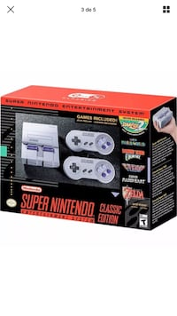 Super Nintendo  classic system   This is the new mini version of Super Nintendo. In great conditions I'm asking 80  Durham, 27705