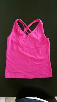 pink spaghetti strap crop top Port Washington, 11050