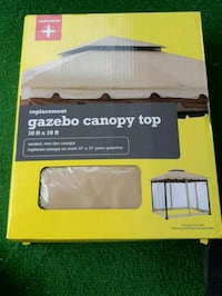 10 by 10 replacement gazebo top Toronto, M3N 1B6
