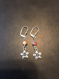 Handmade silver plated earrings  Mississauga, L5J 1W3