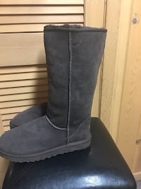 Ugg Brown/Grey Women's Boots Size 10