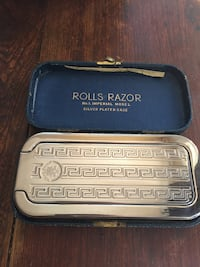 Rare 1920s made in England Rolls Razor imperial No. 1 with silver plated case  Ottawa, K1H