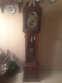 brown wooden grandfather's clock Trenton, 08611