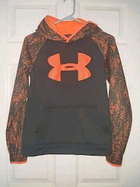 black and orange Under Armour pullover hoodie Whites Lake, B3T 1W1