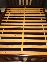brown and white wooden bed frame Belton, 76513