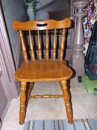 Desk chair solid wood