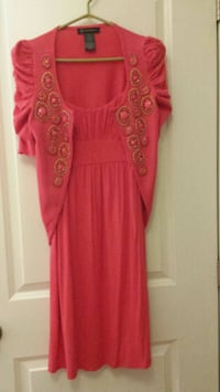 Ladies small dress with matching sweater.