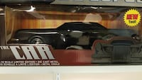 black The Car scale model with window pack
