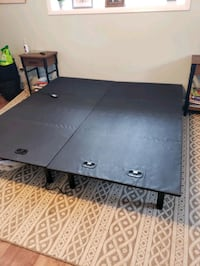 Reclining bed frame (king)