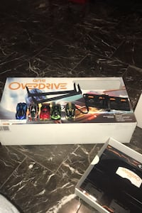 anki overdrive starter kit with 3 extra cars