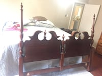 Bed frame and matching night stands Midland, 79705