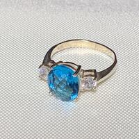 Sterling Silver & Topaz Ring Ashburn, 20147
