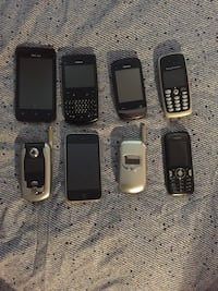 8 Used Cell Phones! Vancouver, V5W 1H9