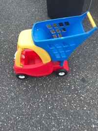 toddler's blue and red Little Tikes cozy coupe Salisbury, 21801