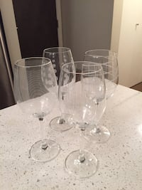 Mikasa set of 4 wine glasses  3733 km
