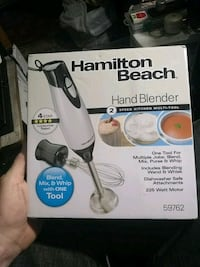 Hamilton Beach hand blender box Colorado Springs, 80903
