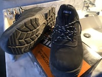 Steel toe working shoes no: 44 6940 km