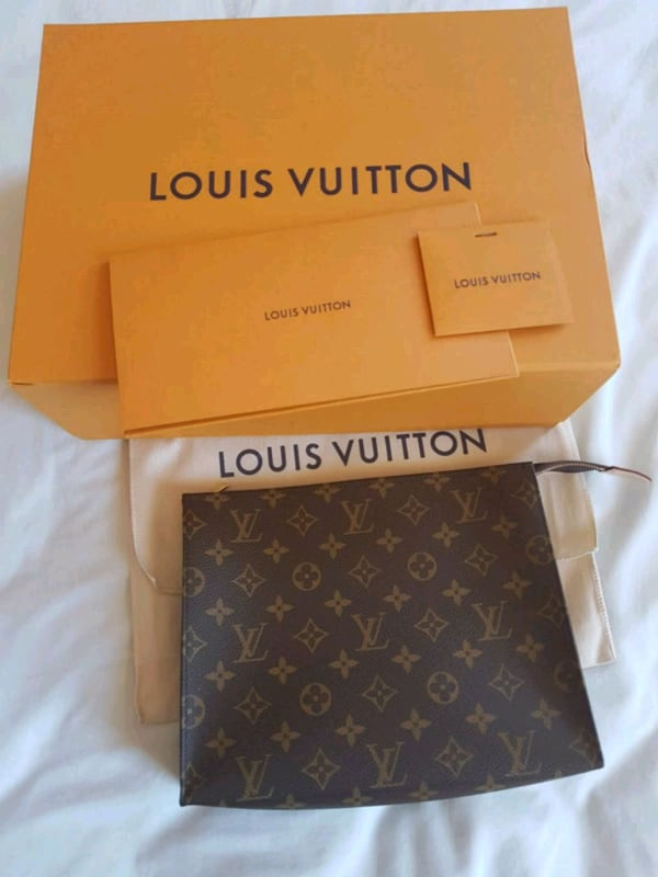 Check my other ads - Louis Vuitton LV 26 Pouch authentic new b5c32b73-e244-4a38-888c-417bede45c31