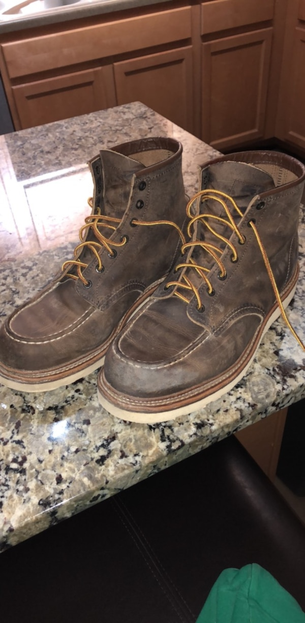 redwing soft toes size 11.5 D