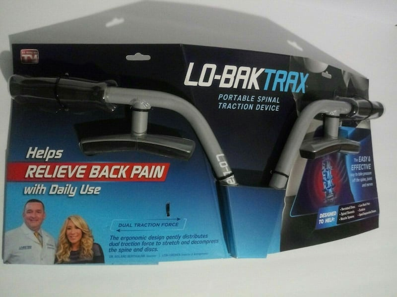 NEW Lo-Bak Trax portable Spinal Traction Device & Bonus Stretches DVD 7cb7d931-1981-4d66-8278-829ffe3b3801
