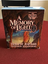 A Memory of Light audio book by Robert Jordan and Brandon Sanderson Clifton, 20124