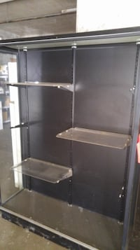 Glass Cabinet with 3 levels shelving Vancouver