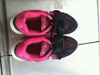 pair of black-and-pink Nike basketball shoes Rockingham, 28379