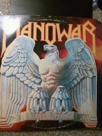 Manowar 'Battle Hymns' album Houston, 77082