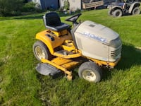 54in cub cadet riding mower