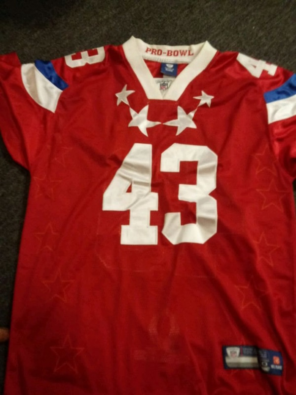 Used red and white Reebok jersey shirt for sale in Williamsport - letgo 3a88288d4