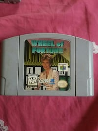 Wheel Of Fortune Nintendo 64 game