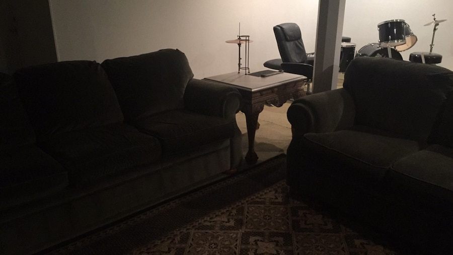 used 2 velvet couches end table for sale in new hope letgo rh tr letgo com