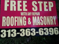 Free cement step w any job repaired  Redford Charter Township, 48240