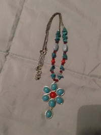 Turquoise color necklace Fayetteville, 17222