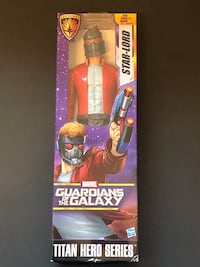 Guardian of the Galaxy Titan Hero Series 12 inch Star Lord Action Figure NIB! Suffolk, 23435