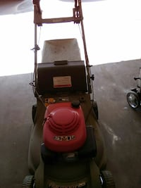 red and gray push lawn mower Palmdale, 93591