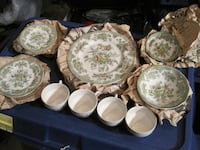 "24 Piece Enoch Wedgwood ""Kent"" China Plate Setting Winnipeg"