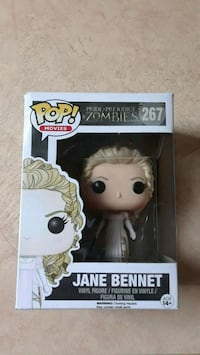Pop! Movies Pride Prejudice Zombies Figure 267  Chester