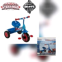 Huffy SpiderMan Folding Trike - Delivery Oshawa, L1J 6A8