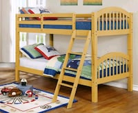 Ryder Yellow Twin over Twin Bunk Bed | 9082   1211 mi