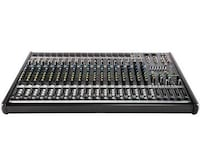 Mackie ProFx22 Analog audio mixing console with case Romulus, 48174
