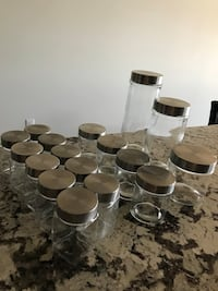 Glass containers all for $20 Coaldale, T1M 1G8