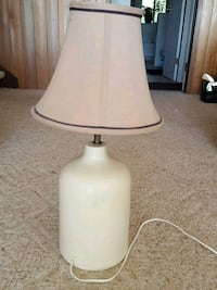white and gray table lamp Fanny Bay, V0R 1W0