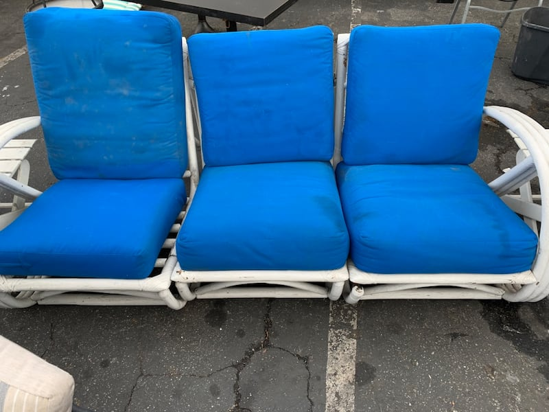 Patio Chairs With Royal Blue Cushions