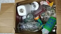 Box of assorted items Mississauga, L4X 2Z3