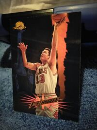 Micheal Dunleavy Chicago Bulls 13 trading card