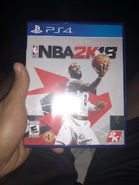 Sony PS4 NBA 2K18 game case San Antonio, 78208