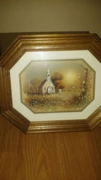 Beautiful antique church painting must sell Charleston, 61920